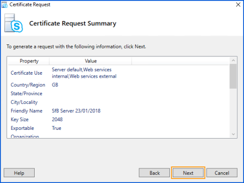 Issuing longer 5 year internal ca certificates to skype for cert17 yelopaper Image collections