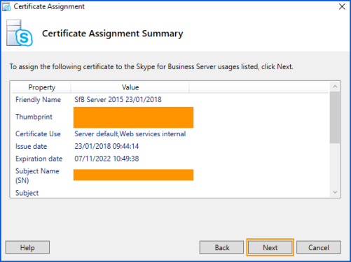 Issuing longer 5 year internal ca certificates to skype for cert22 yelopaper Image collections
