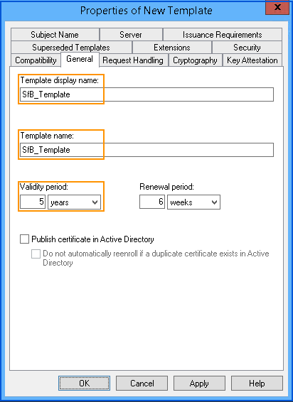 Issuing longer 5 year internal ca certificates to skype for right click certificate templates click new certificate template to issue yelopaper Image collections