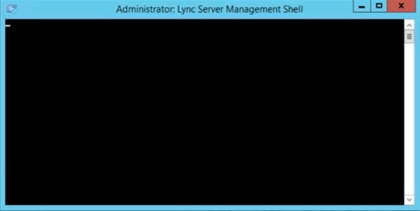 LyncBlackScreen