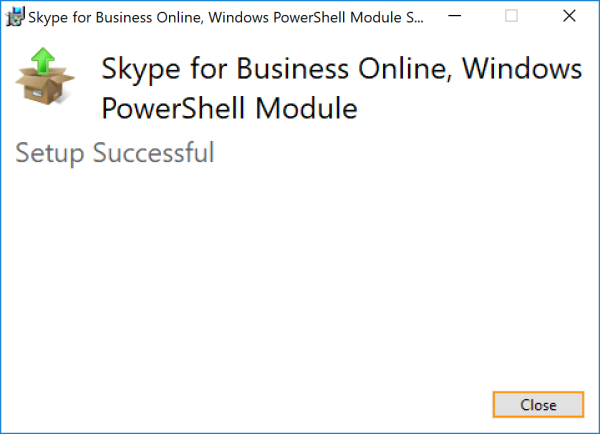 Connect to Skype for Business Online with PowerShell using MFA – x500:/